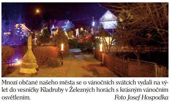 vánoční Kladruby v Železných horách
