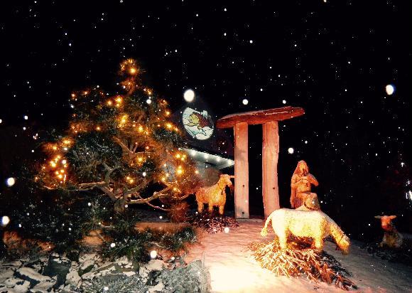 Vánoční Kladruby v Železných horách, autor Jiří Štekl